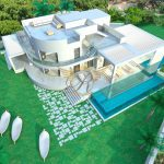 Vale do Lobo Villa for sale in large plot with project for a new contemporary Villa
